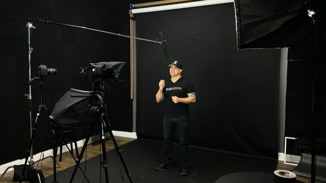 Joe in studio 3