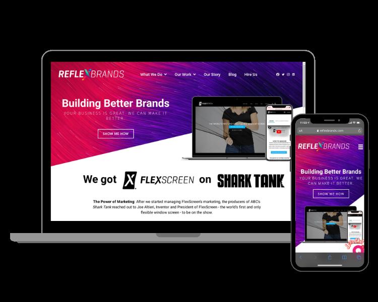 joe altieri our companies Reflex brands website images